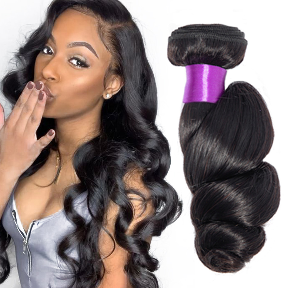 Loose Wave Bundles Brazilian Hair Weave Bundles 30 inch Hair Extensions For Black Women Human Hair Bundles