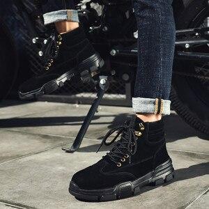 Image 5 - أحذية رياضية رجالية حذاء كاجوال أحذية رياضية رجالية للتدريب Masculino Zapatillas Hombre الأحذية الأدوات أحذية عالية أفضل مارتن الأحذية