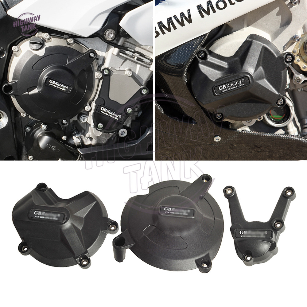 capa do motor da motocicleta protetor conjunto caso para gb racing para bmw s1000r 2017 2018