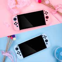 Funda protectora para Nintendo NS Switch Joy Con carcasa trasera para Nintendo Switch Console