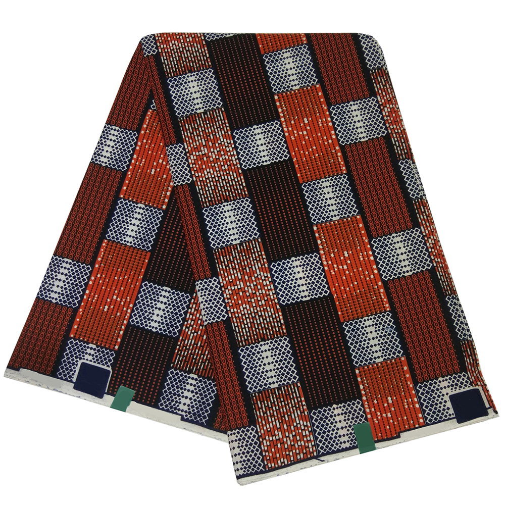 6 Yards New Plaid Printed High Quality Holland Fabrics For Male Sewing