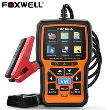 Foxwell Batterij Tester NT301 Plus OBD2 Scanner Automotive Professionele Obdii Motor Diagnose Scanner Voor Auto Diagnostische Hulpmiddelen