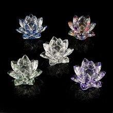 80mm Quartz Crystal Lotus…