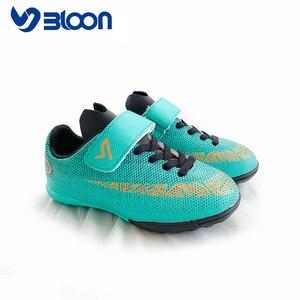 Image 5 - BLOON zapatos de fútbol para niños, calzado de fútbol para interiores, botas de fútbol deportivas, zapatillas de deporte para niñas y niños, sala de fútbol