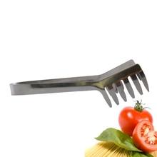 Нержавеющая сталь лапша клип пищевой гребень спагетти щипцы паста клип еда держатель для приготовления пасты ресторан кухня аксессуар