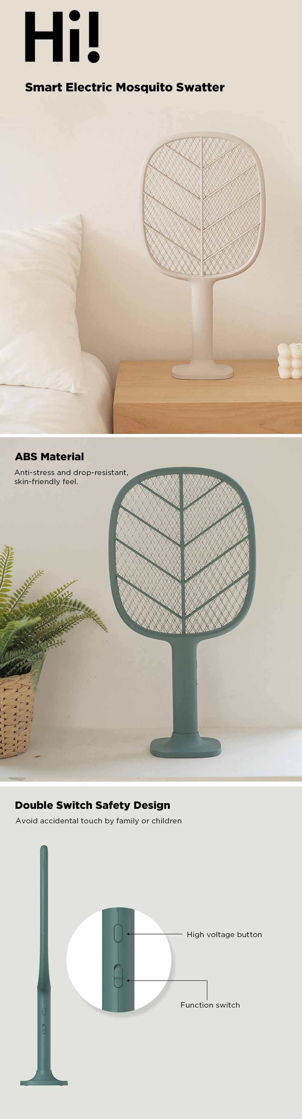 Xiaomi Solove P2 Electric Mosquito Swatter 5