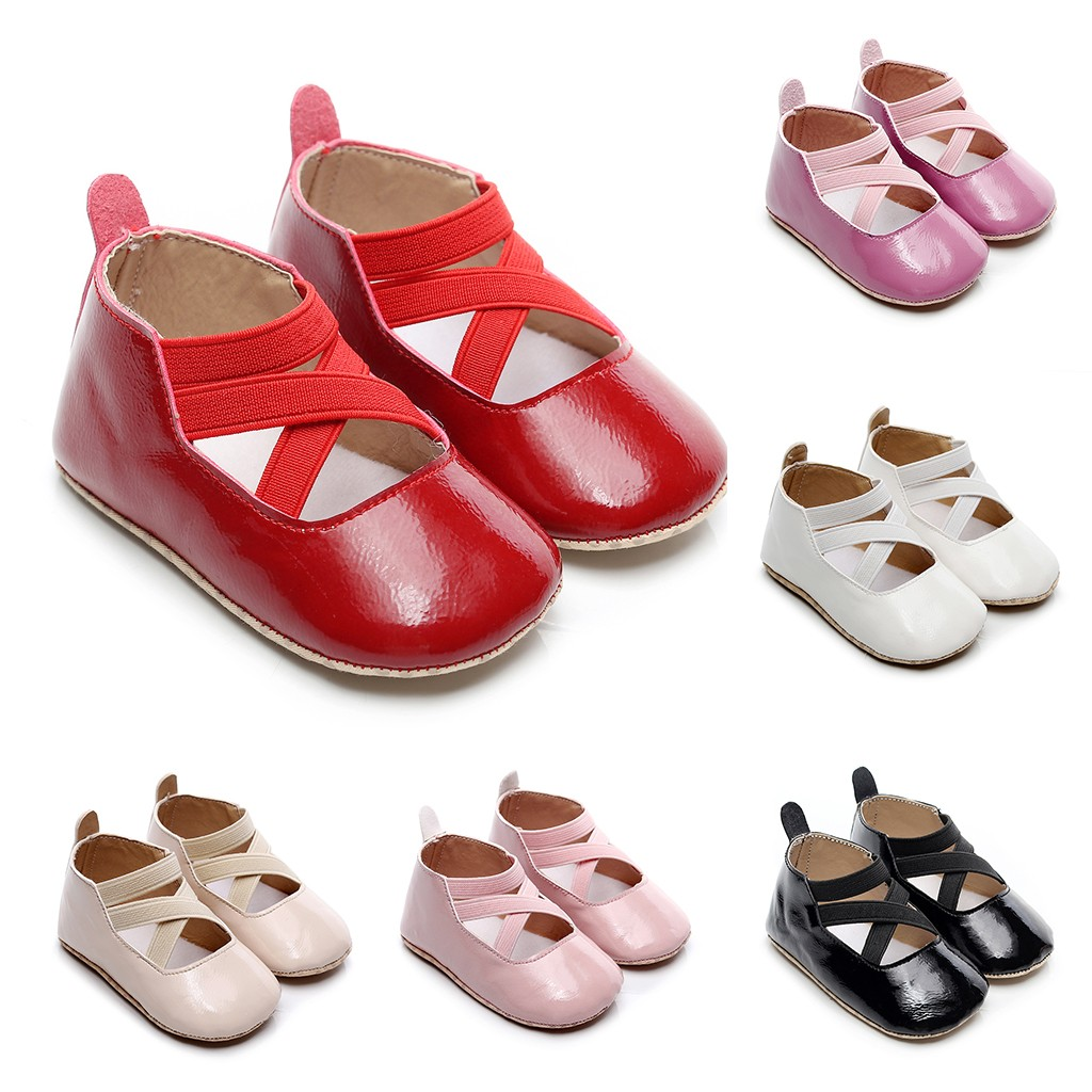 Toddler Kids Baby Girls Boys Cute Solid Firstwalk Cross Tie Casual Shoes Comfortable Kids Shoes Zapatos Modis Sapato Infantil