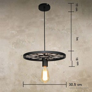 Image 5 - Подвесной светильник s в стиле ретро, промышленный, винтажный, для бара, столовой, кухни
