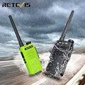 Рация Водонепроницаемая RETEVIS RT647 IP67 водонепроницаемые рации 1 или 2 шт. PMR446 PTT FRS портативное радио для охотничьего отеля
