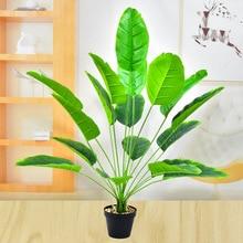 82cm18 головок, искусственные растения зелеными деревьями, аксессуары для украшения дома гостиной сад для отдыха на природе, обувь для свадьбы...