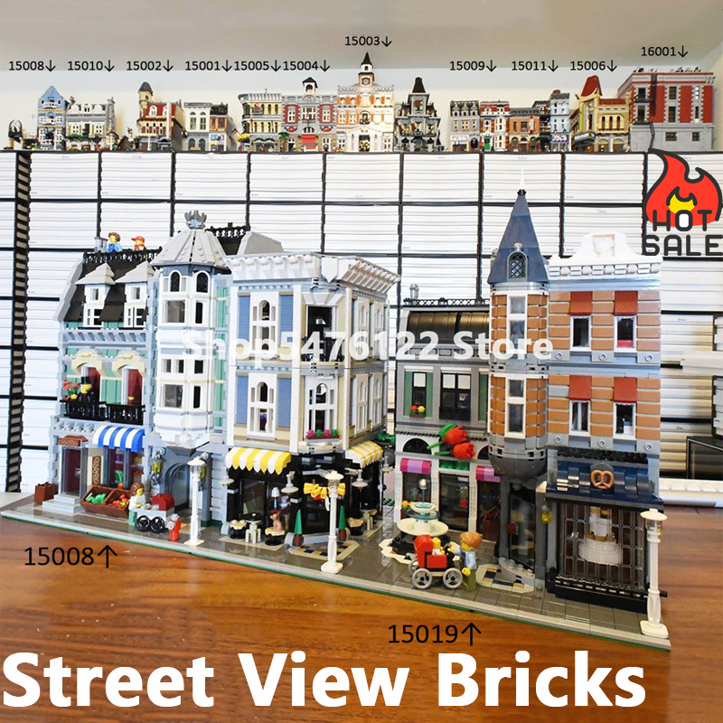 Street View Building Blocks In Stock 10182 10185 10190 10197 10211 10218 10224 10232 10243 10246 10255 10260 10261 75827 10272