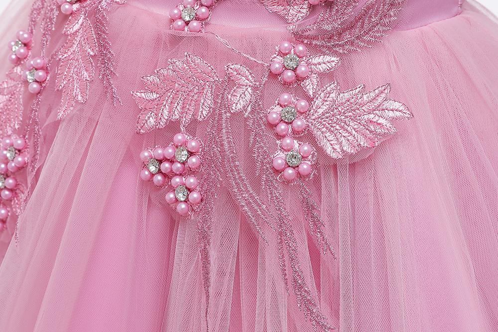 Girls Dress Christmas Kids Princess Dresses For Girls Clothing Flower Party Girls Dress Elegant For Girl Clothes 3-12Yrs wear 5