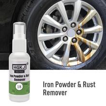 HGKJ-18-50ml Car Paint Wheel Iron Powder Rust Remover Wheel Cleaner Derusting Spray Car Maintenance Tools Anti-rust Lubricant