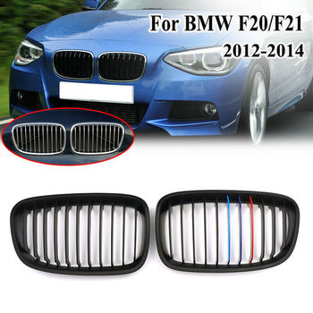 Car accessries car Replacement Gloss Black M Front Kidney Grille Grill for BMW F20 F21 1 Series 2012 2013 2014 1 Pair ABS