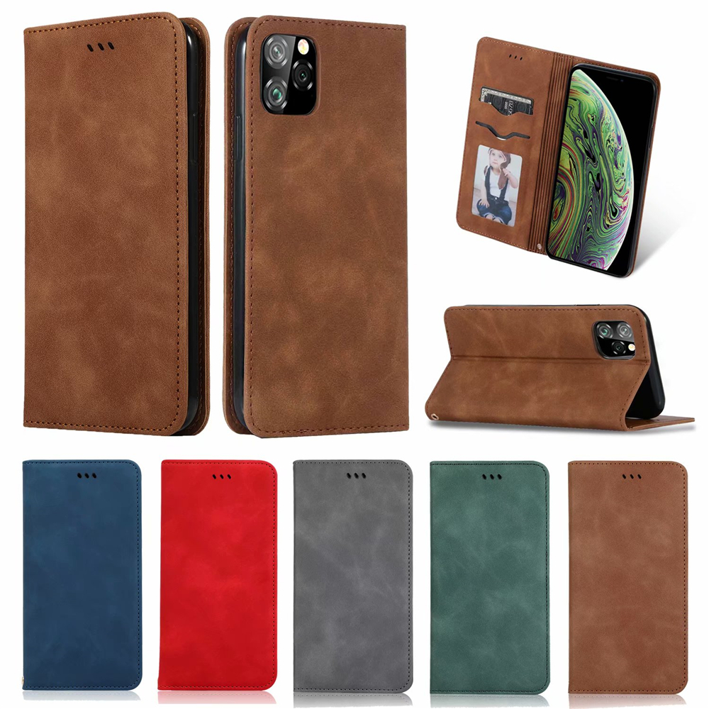 Luxury Leather Flip Wallet Case for iPhone 11/11 Pro/11 Pro Max 30
