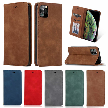 Luxury Leather Flip Wallet Case for iPhone 11/11 Pro/11 Pro Max
