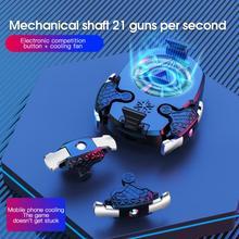 Joystick-Accessory Multi-Function Controller Radiator-Gear Phone Shooting-Game Adjustable