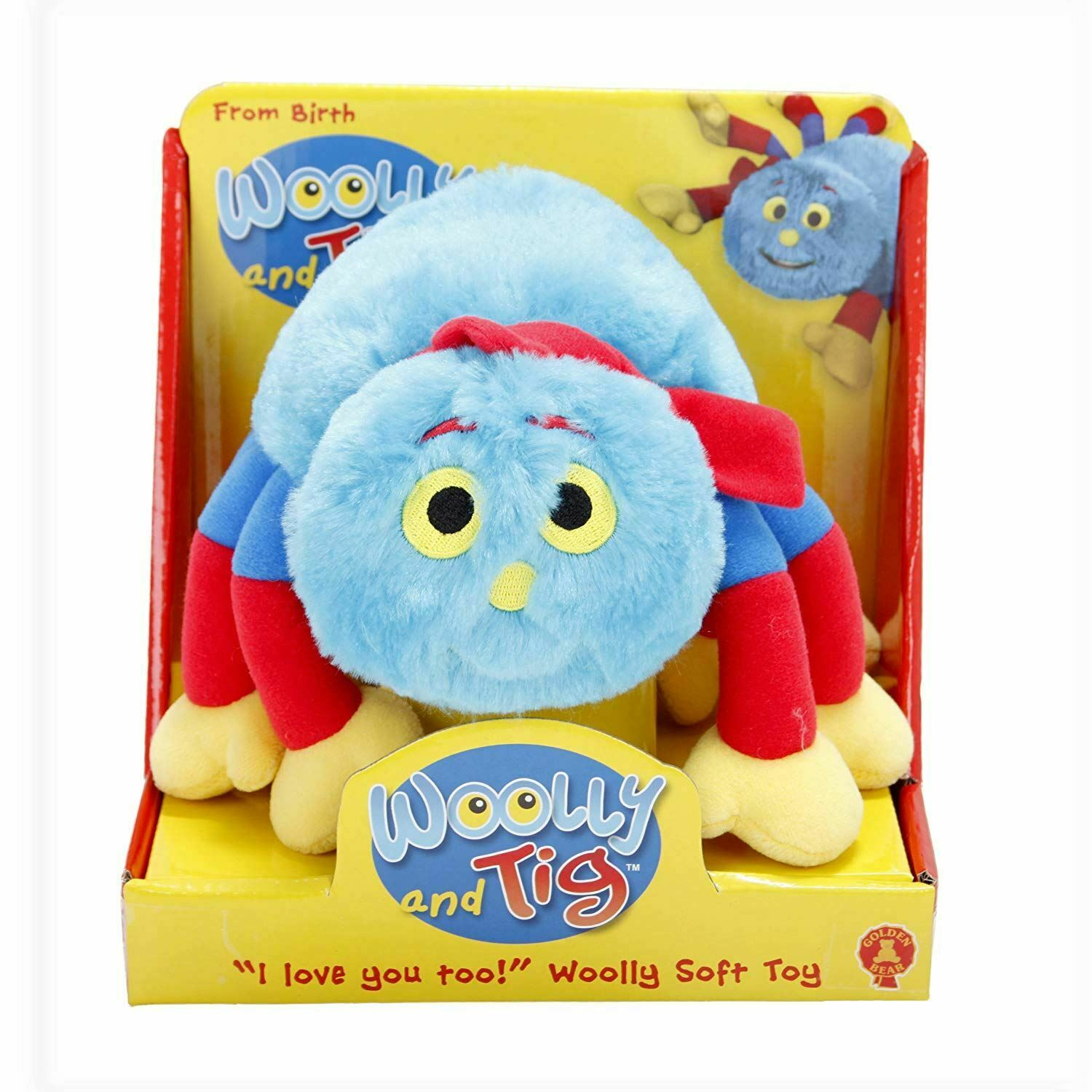 The new gift Woolly and Tig - Spider WOOLLY Plush SOFT TOY 14
