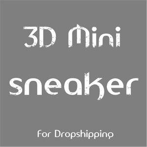 Image 1 - 3D מיני סניקרס Keychain טלפון רצועת עבור Dropshipping וסיטוני