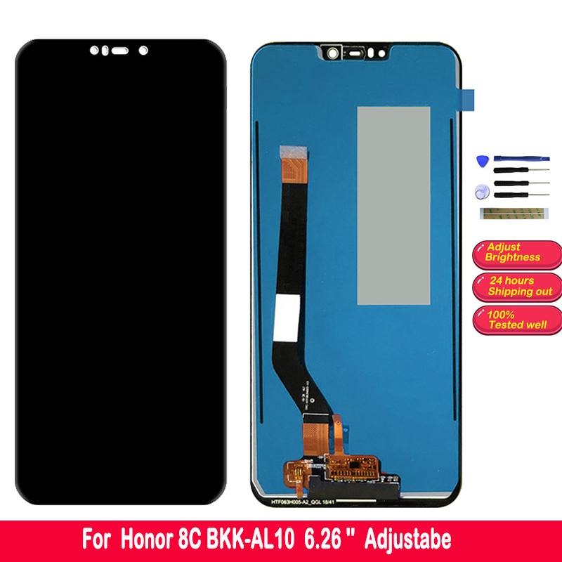 SZMUGUA 6.26 IPS LCD <font><b>Screen</b></font> For Huawei <font><b>Honor</b></font> <font><b>8C</b></font> BKK-AL10 LCD <font><b>Display</b></font> <font><b>Touch</b></font> <font><b>Screen</b></font> Digitizer Assembly Replacement 10 <font><b>Touch</b></font> image