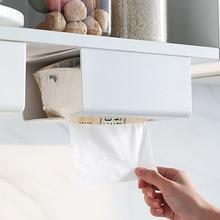 Nile Kitchen Paper Storage Box Tissue Box Paste Wall mounted Paper Towel Holder Toilet Tissue Box