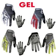 Gants de cyclisme etixxl, vente en gros, doigt complet, guantes ciclismo Gel Pad, gants de moto, gants de vélo vtt d'été