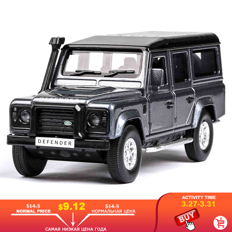 1:36 Diecast Mini Alloy Car Model Lands Rover Range Rover Metal Toy Car Wheels Simulation Pull Back Car Collection Kids Gift #ZW