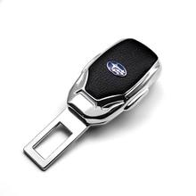 Auto Sitz Gürtel Schnalle Beseitigt Sicherheit Schnalle Alarm Schnalle Extender für Subaru Impreza Forester Tribeca XV BRZ Auto Zubehör