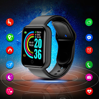Digital Watch Men Women Smartwatch Android Monitor for IOS Kids Wache Whatch Sport Watches Tracker Fitness Watch Smart Watch image