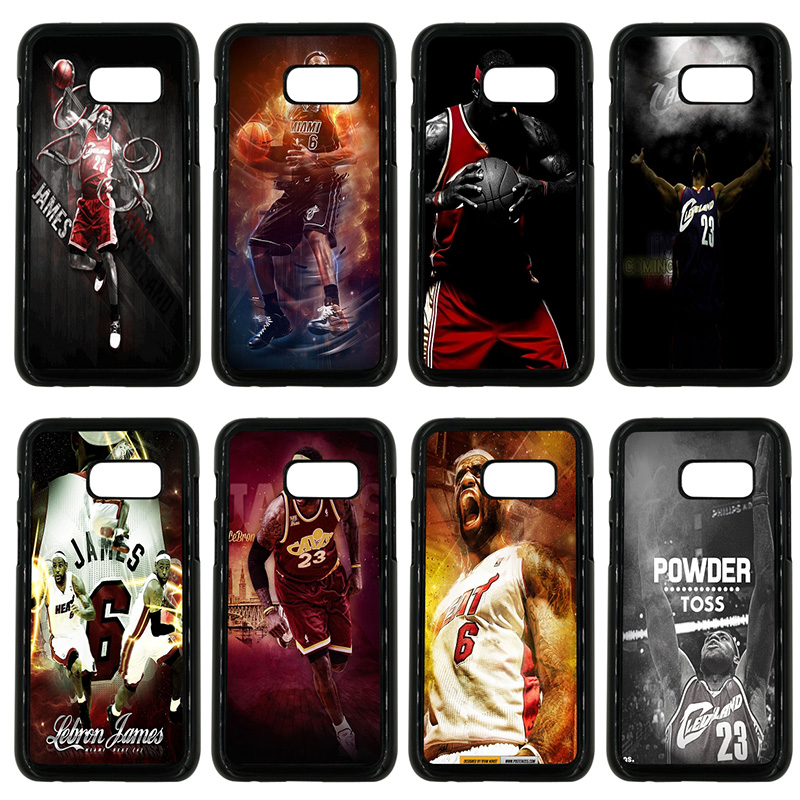 Basketball Star Lebron James Cell Phone Cases Hard Plastic Cover for Samsung Galaxy A3 A5 A7 A8 2015 2016 2017 2018 Note 8 7 5 3 image