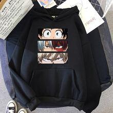 Boku nenhum herói-meu herói academia hoodies masculino anime harajuku manga com capuz moda masculina moletom dos desenhos animados com capuz feminino