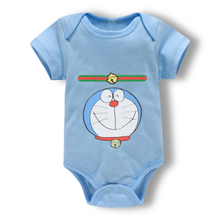 Newborn Baby Romper Infant Cotton Short Sleeve Boy Baby Letter Clothes Girl baby bodysuits Born Crawling 0 18M
