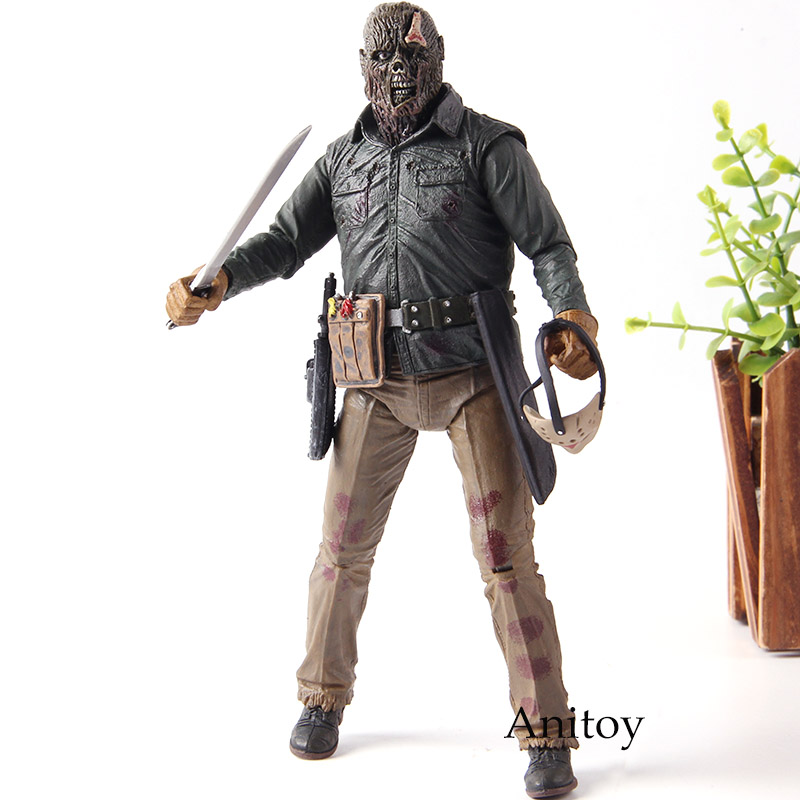 Image 5 - NECA Friday the 13th 2009 Deluxe Edition Jason Voorhees Action Figure PVC Horror Collectibles Model Toy Gift for FriendsAction & Toy Figures   -