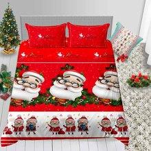 3D Print christmas Duvet Cover set UK/US/EU/AU sizes available