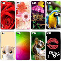 Silicone Printed phone Case For Huawei Honor 6/Mulan/ H60-L02/ H60-L12/H60-L04 cases soft TPU Phone Back cover full shell