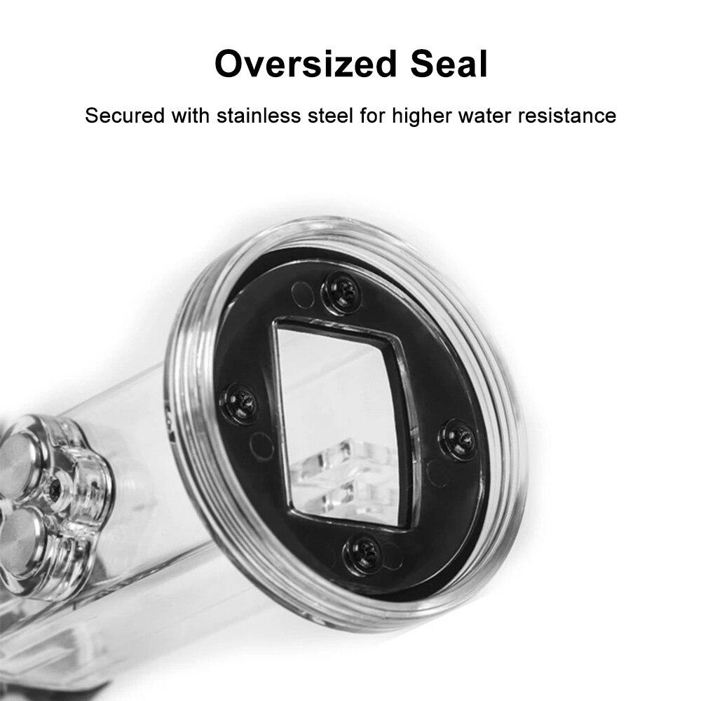 PULUZ 61m Onderwater Waterdichte Behuizing Duiken Case Cover voor DJI Osmo Pocket - 4