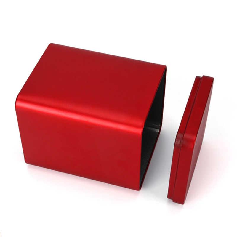Xin Jia Yi ambalaj gıda sınıfı kalay Can siyah Metal kare kutusu alüminyum teneke çay kutusu