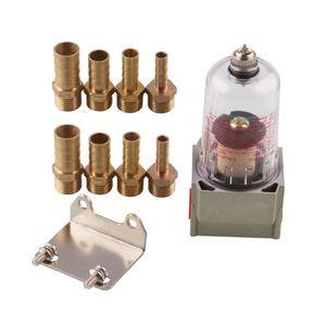 Двигатель Baffled масляный сепаратор ловли Резервуар Сжатого Воздуха Фильтр