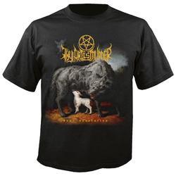 Oficial licenciado tua arte é assassinato caro desolação t camisa deathcore metal