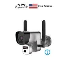 US Captain  Câmera de imagem térmica infravermelha sem fio da medida da temperatura da câmera da visão térmica de wifi, cara automática da imagem