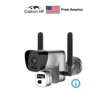 US Captain   واي فاي اللاسلكية كاميرا الرؤية الحرارية قياس درجة الحرارة كاميرا تصوير حراري بالأشعة تحت الحمراء ، التصوير التلقائي الوجه