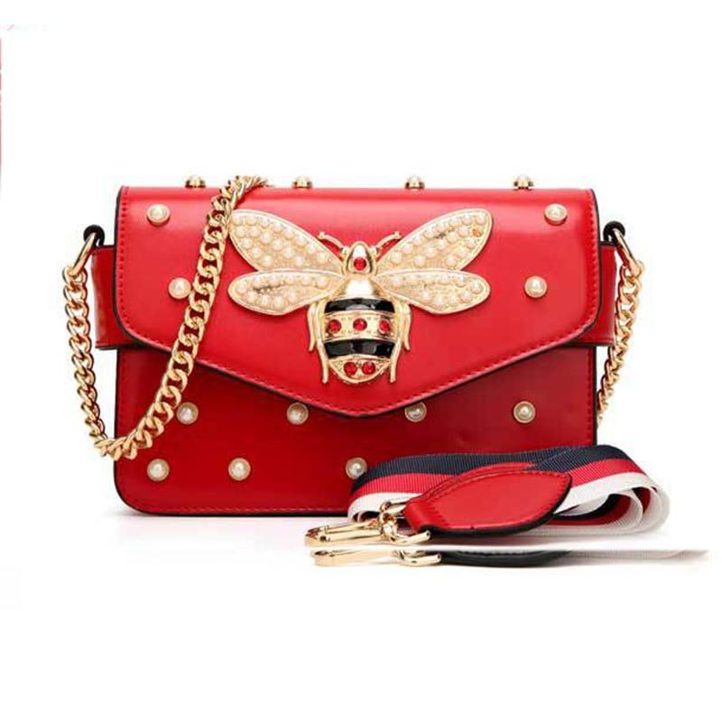 2020 Bag Women Messenger Bags Little Bee Hand Bags Crossbody Bags for Ladies Shoulder Bags Handbags Women Famous Brands(China)