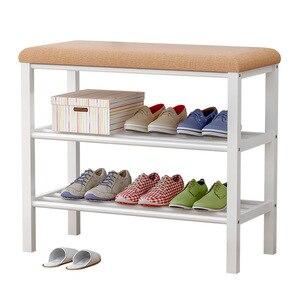 Image 5 - Shoe Rack Shoe Cabinet Shelf For Shoes Organizer Storage Home Furniture Meuble Chaussure Szafka Na Buty Schoenenrek W0361