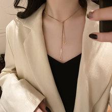 Женская ниша из титановой стали лаконичное ожерелье ИНСИ Универсальный