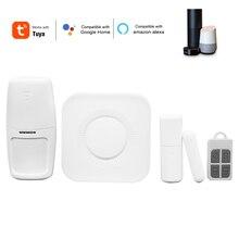 Wifi сигнализация система умный дом сигнализация HostDetector приложение/голосовое дистанционное управление домашняя охранная сигнализация сист...