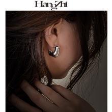Hangzhi 2020 новые серьги s925 характерный дизайн индивидуальные