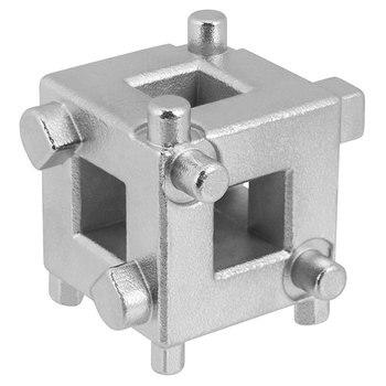 цена на 1 Pcs Rear Brake Disc Piston Caliper 3/8 Brake Caliper Rewind Tool Wind Back Cube Adaptor Tool