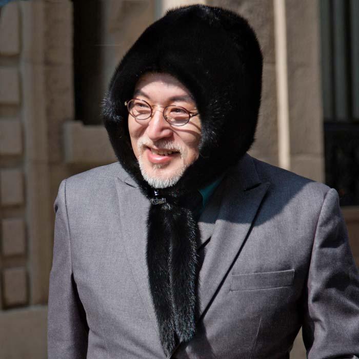 Winter New Men'S Mink Fur Tanning Fur Hat Earmuffs Snow Cap Soft Hat Casual
