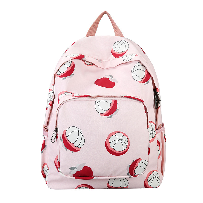 2019 fashion printed nylon ladies backpack youth student backpack teen girl leisure travel bag waterproof bag Mochila Mujer image
