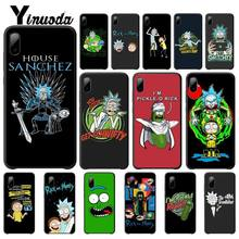 yinuoda rick and morty mr pickles rick newest super cute phone cases for iphone 8 8plus 7 7plus 6s 6splus xsmax x xs xr Yinuoda Pickle Rick Rick And Morty Case Luxury For Iphone 5s Se 6 6s 7 8 Plus X Xs Max Xr 11 Pro Max Mobile Phone Accessories